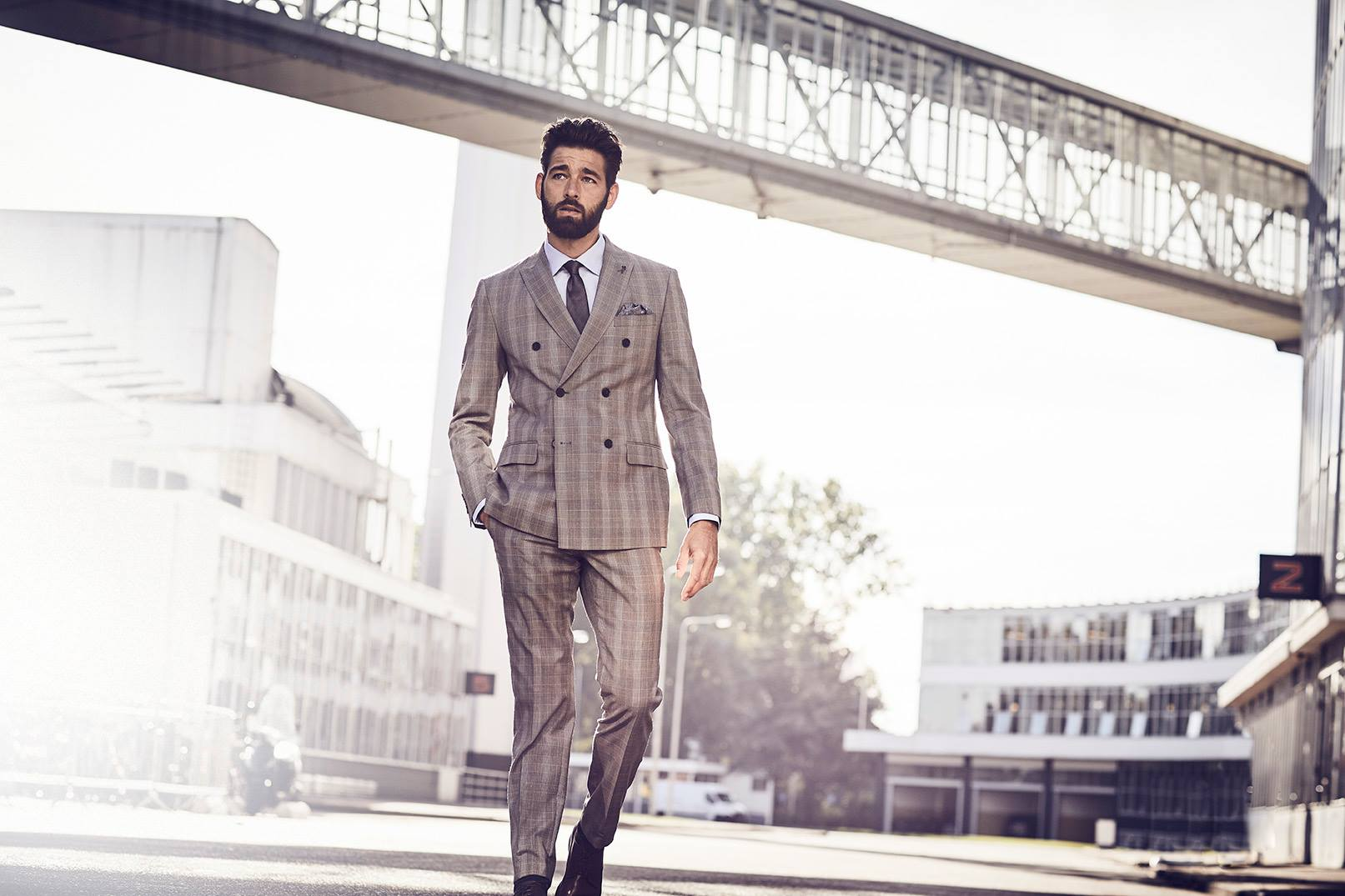 Wedding Suit - Joe Black Grey Wedding Suit