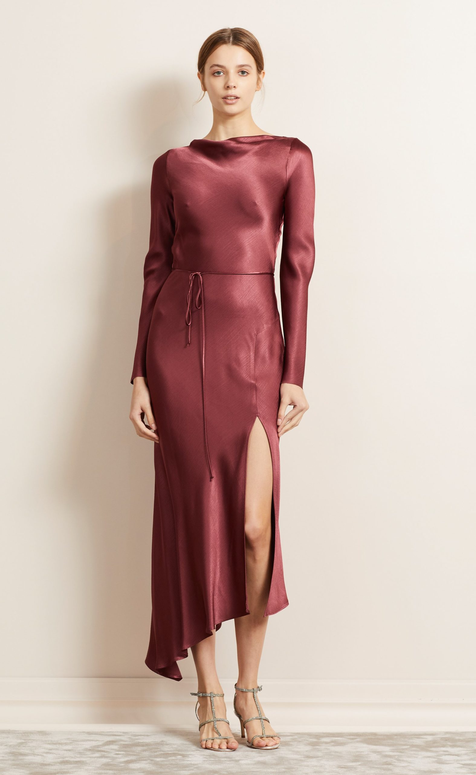 BecAndBridge_MoonDance_LongSleeves_Dress_Wine