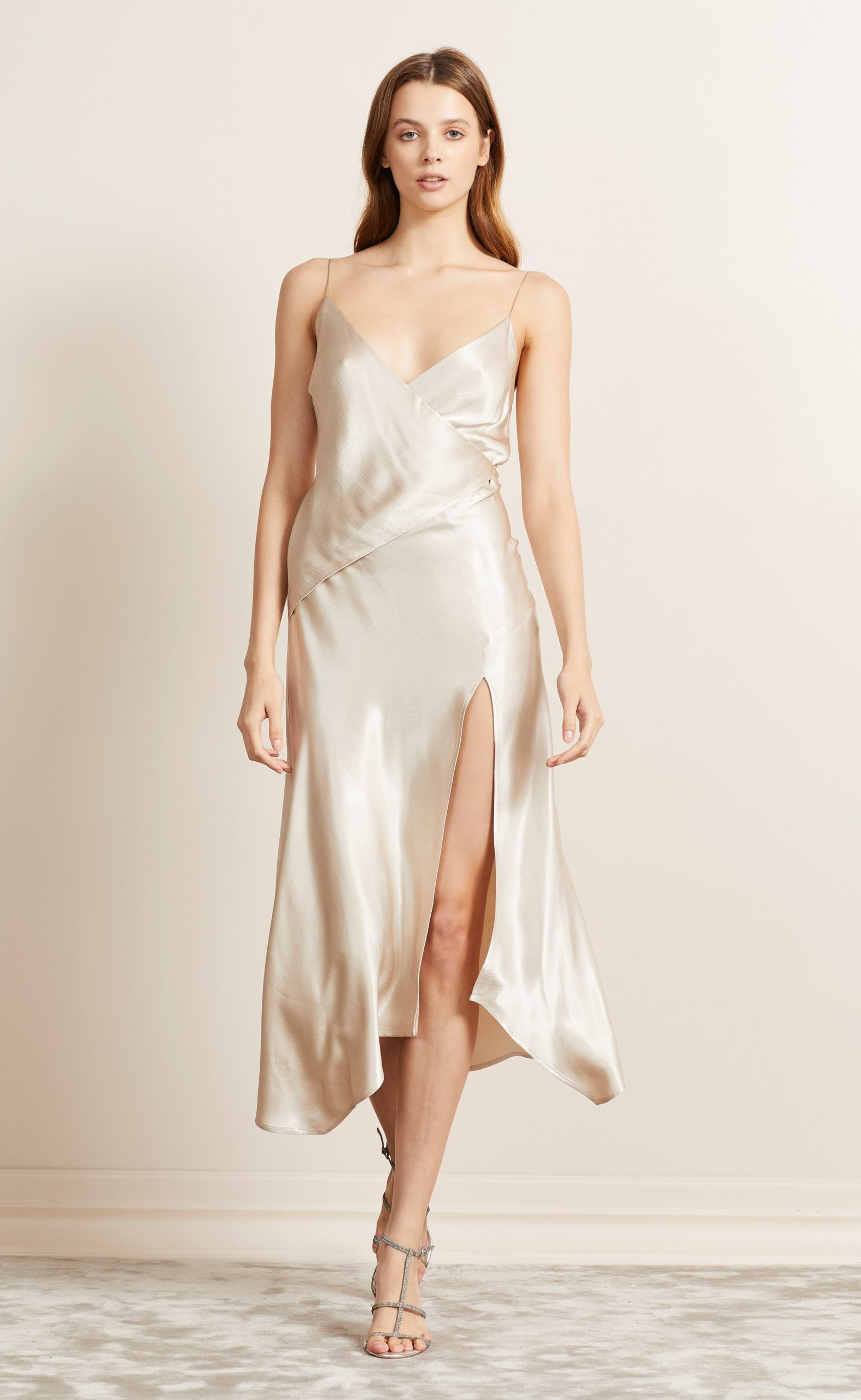 BecAndBridge_Moondance_Wrap_Dress_Sand