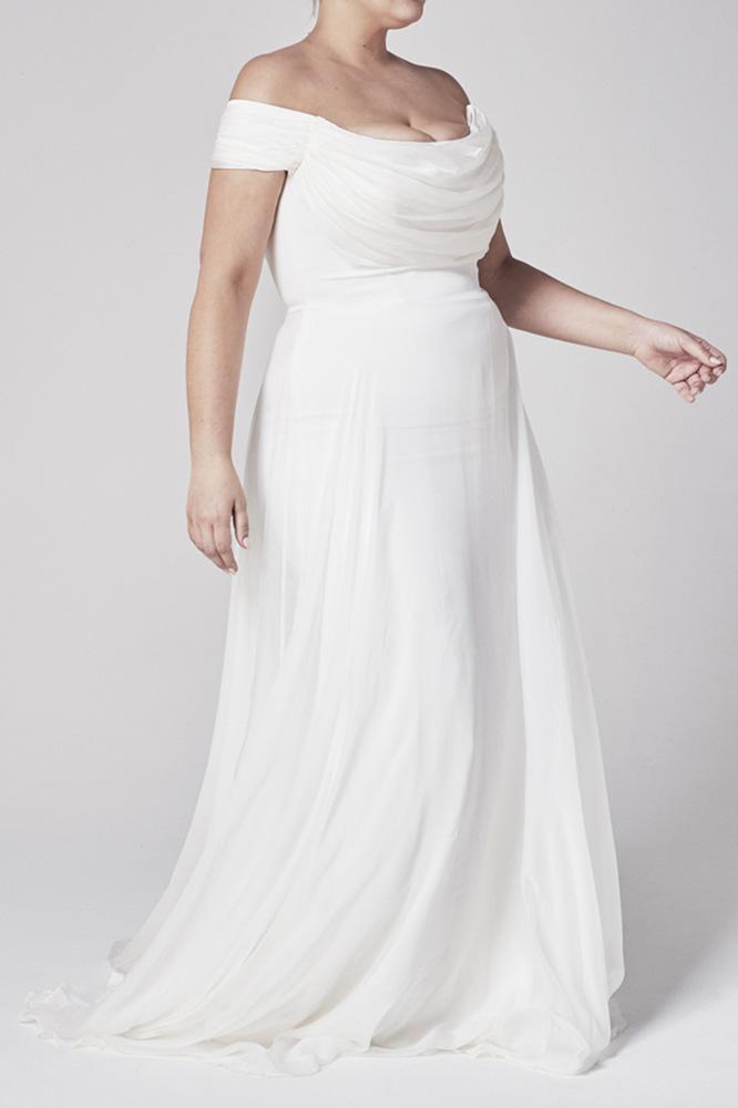 Wedding Dresses - White Wedding Long Gown