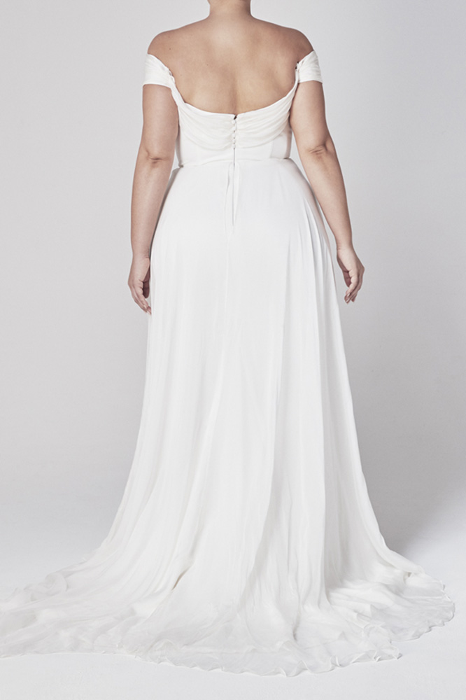 Wedding Dresses - Bride in White Long Gown