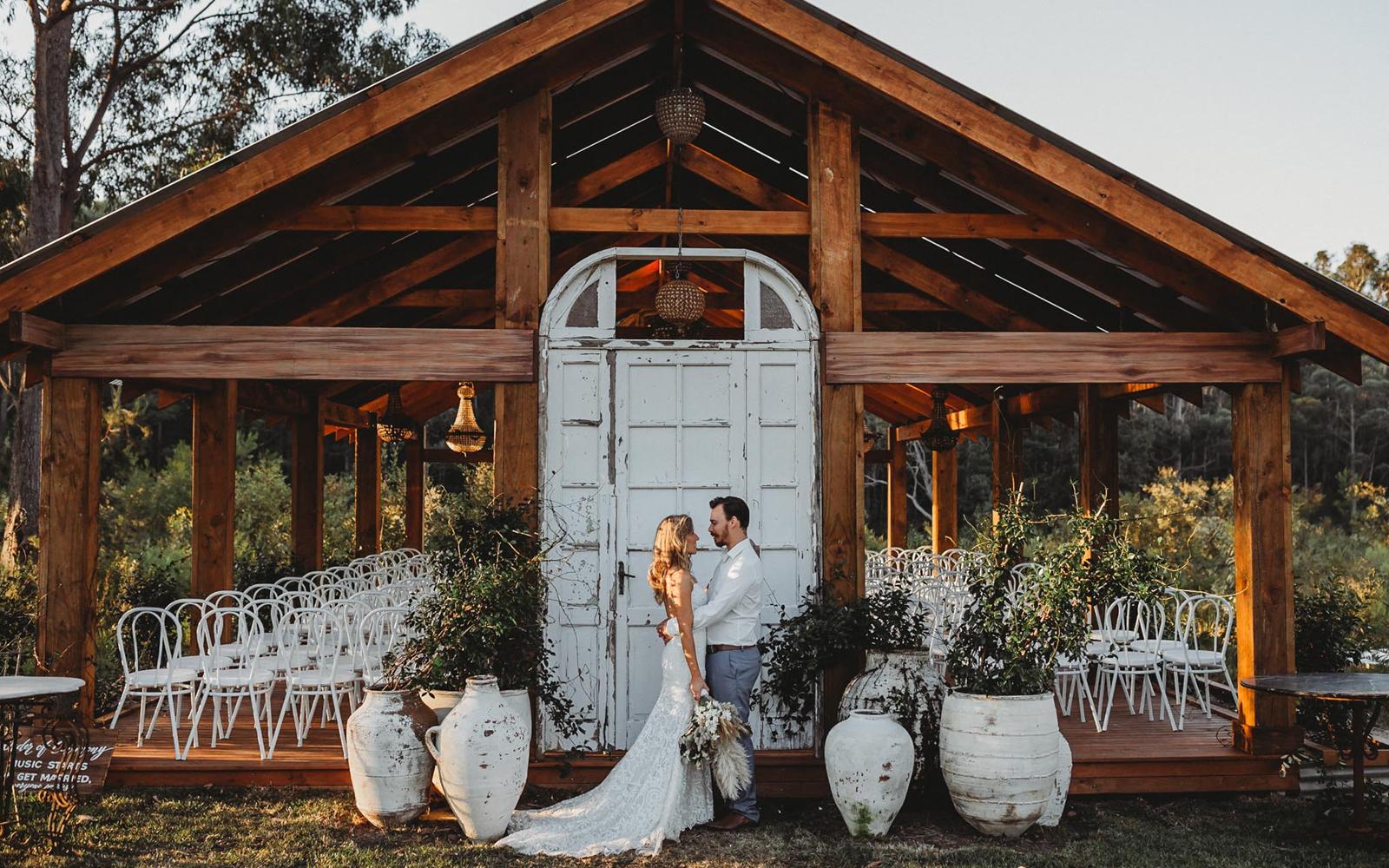 sydney wedding venue woods farm