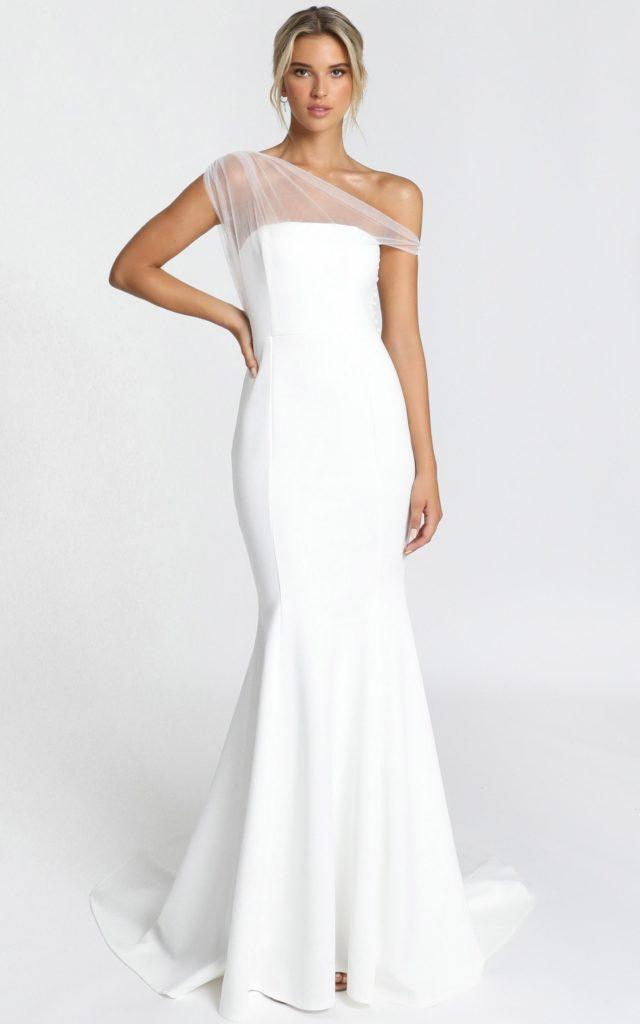 wedding dress under $500 showpo