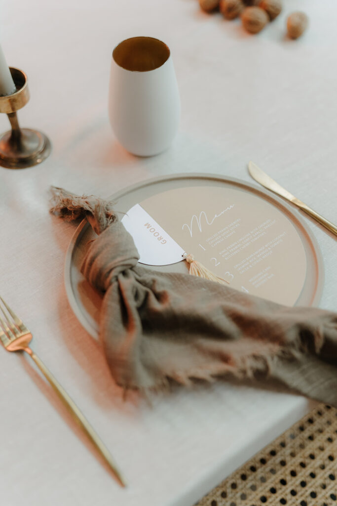 Wedding Expo - Silverware and Pamplet