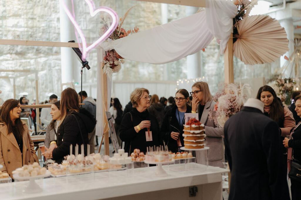 Wedding Expo - Pastry Tasting