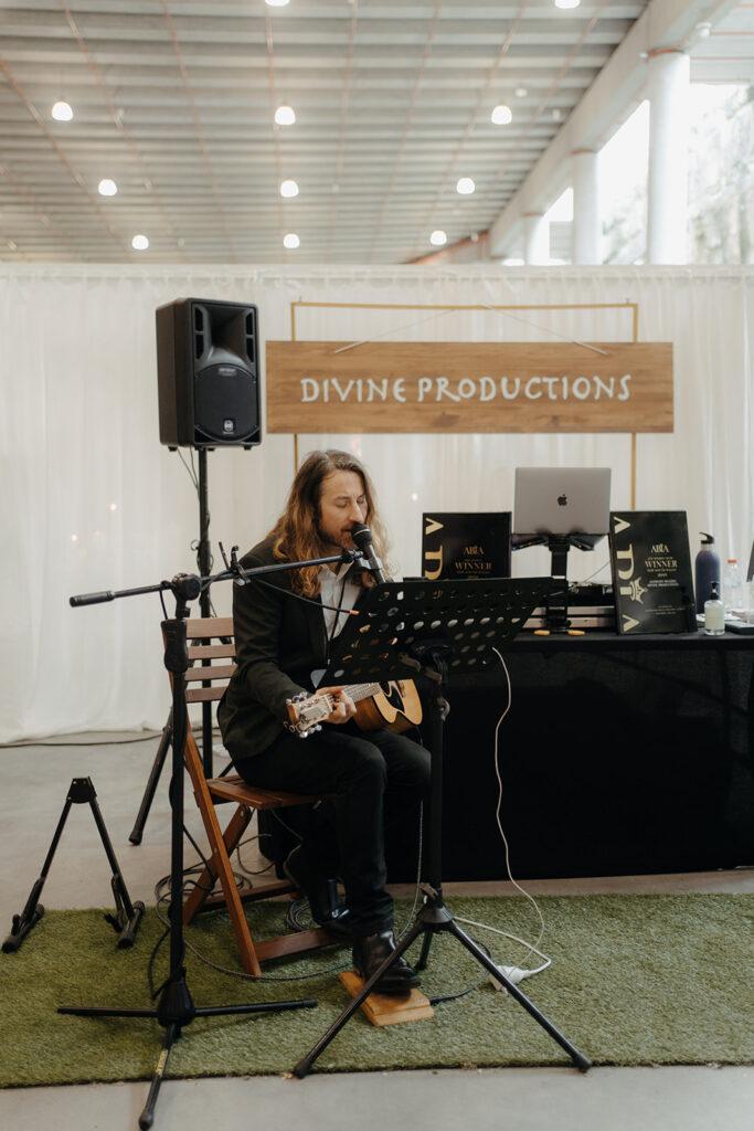 Wedding Expo - Musician Playing Live