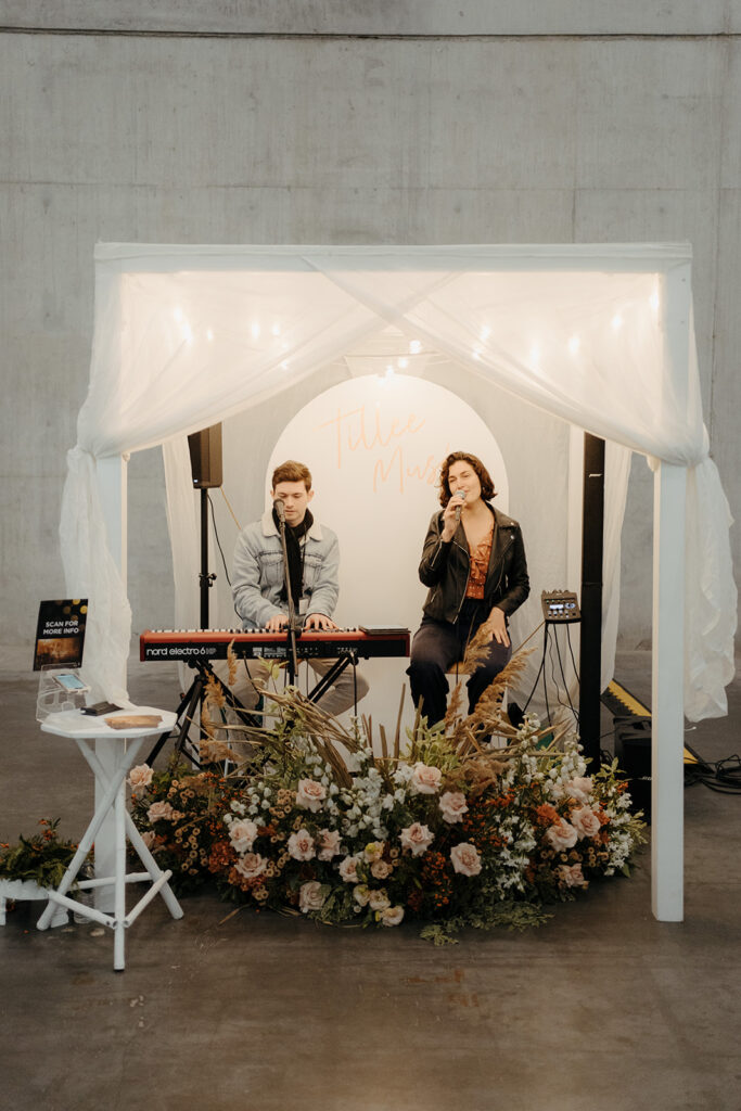 Wedding Expo - Wedding Musician Exhibit